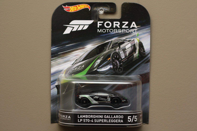 Hot Wheels 2016 Retro Entertainment Forza Motorsport Lamborghini Gallardo LP 570-4 Superleggera