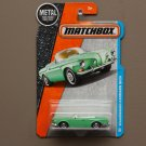 Matchbox 2016 MBX Adventure City Volkswagen Karmann Ghia (pastel green)