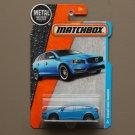 Matchbox 2016 MBX Adventure City Volvo V60 Wagon (blue)