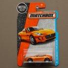 Matchbox 2016 MBX Adventure City '15 Jaguar F-Type Coupe (orange) (SEE CONDITION)