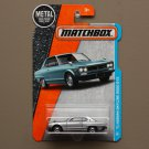 Matchbox 2016 MBX Adventure City '71 Nissan Skyline 2000 GTX (silver) (dark card variation)