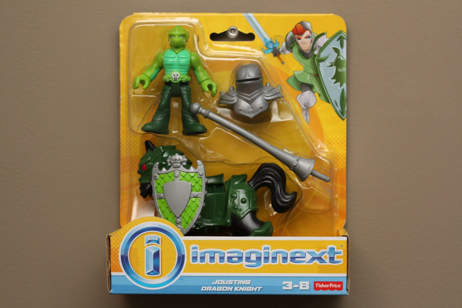 Fisher-Price Imaginext Jousting Dragon Knight Play Set