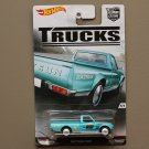 Hot Wheels 2016 Car Culture Trucks Datsun 620 (SEE CONDITION)