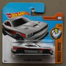 Hot Wheels 2017 Muscle Mania '15 Dodge Challenger SRT Hellcat (silver)