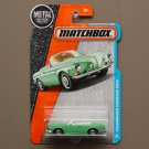 Matchbox 2016 MBX Adventure City Volkswagen Karmann Ghia (pastel green) (SEE CONDITION)