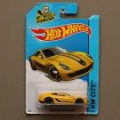 Hot Wheels 2015 HW City Ferrari 599 GTB Fiorano (yellow) (SEE CONDITION)