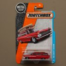 Matchbox 2017 MBX Adventure City '59 Chevy Wagon (red)
