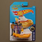 Hot Wheels 2017 HW Screen Time The Beatles Yellow Submarine (SEE CONDITION)