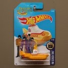 Hot Wheels 2017 HW Screen Time The Beatles Yellow Submarine