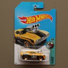 Hot Wheels 2017 Tooned '69 Camaro Z28 (yellow) (Treasure Hunt)