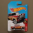 Hot Wheels 2017 HW Flames '55 Chevy Bel Air Gasser (burgundy) (SEE CONDITION)
