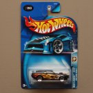 Hot Wheels 2003 Wastelanders '70 Ford Mustang Mach 1 (black)