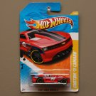 Hot Wheels 2011 New Models Custom '11 Camaro (red) (SEE CONDITION)