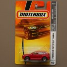 Matchbox 2008 VIP Luxury Porsche Cayenne Turbo (red)