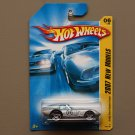 Hot Wheels 2007 New Models Shelby Cobra Daytona Coupe (silver)
