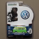 Greenlight Club V-Dub Series 4 1968 Volkswagen Type 2 T2 Bus (Green Machine)