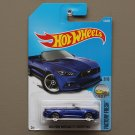Hot Wheels 2017 Factory Fresh '15 Ford Mustang GT Convertible (blue)