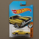 Hot Wheels 2017 Muscle Mania '69 Dodge Charger 500 (yellow)