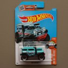 Hot Wheels 2016 HW Hot Trucks Bad Mudder 2 (turquoise) (SEE CONDITION)