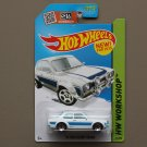 Hot Wheels 2015 HW Workshop '70 Ford Escort RS1600 (white)