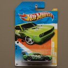 Hot Wheels 2011 New Models Dodge Challenger Drift Car (green) (SEE CONDITION)