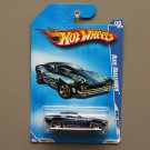 Hot Wheels 2009 Rebel Rides Dixie Challenger (navy blue) (SEE CONDITION)