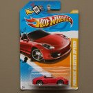 Hot Wheels 2012 New Models Porsche Boxster Spyder (red) (SEE CONDITION)