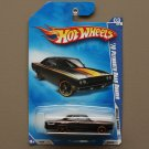 Hot Wheels 2009 Muscle Mania '70 Plymouth Road Runner (black) (SEE CONDITION)
