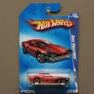 Hot Wheels 2009 Rebel Rides Dixie Challenger (red) (SEE CONDITION)