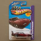 Hot Wheels 2013 HW Showroom '69 Dodge Charger Daytona (burgundy) (Fast & Furious) (SEE CONDITION)