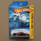 Hot Wheels 2007 New Models Buick Grand National (black) (SEE CONDITION)