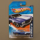 Hot Wheels 2011 Muscle Mania '70 Chevelle SS (blue) (SEE CONDITION)