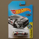 Hot Wheels 2017 HW Speed Graphics '16 Ford Focus RS (ZAMAC silver - Walmart Excl.)