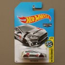 Hot Wheels 2017 HW Speed Graphics '16 Ford Focus RS (ZAMAC silver - Walmart Excl.) (SEE CONDITION)