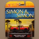 Hot Wheels 2014 Retro Entertainment '80 Dodge Macho Power Wagon (Simon & Simon)