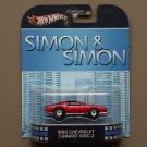 Hot Wheels 2013 Retro Entertainment '85 Chevy Camaro IROC-Z (Simon & Simon)