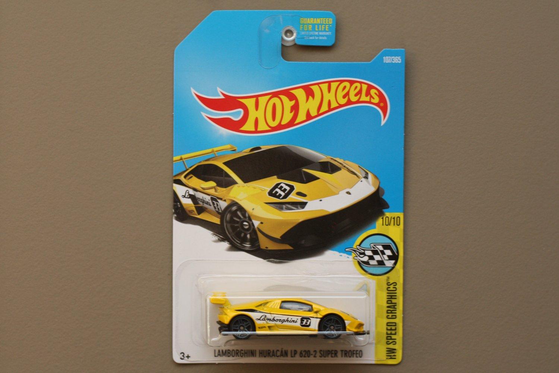 hot wheels 2017 hw speed graphics lamborghini huracan lp 620 2 super trofeo yellow. Black Bedroom Furniture Sets. Home Design Ideas