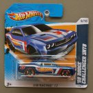 Hot Wheels 2012 HW Racing '08 Dodge Challenger SRT8 (blue)