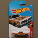 Hot Wheels 2017 HW Flames '68 Plymouth Barracuda Formula S (white)