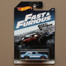 Hot Wheels 2017 Fast & Furious '70 Ford Escort RS1600 (SEE CONDITION)