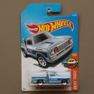 Hot Wheels 2017 HW Hot Trucks '78 Dodge Li'l Red Express Truck (blue) (SEE CONDITION)