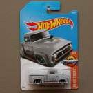 Hot Wheels 2017 HW Hot Trucks Custom '56 Ford Truck (grey) (SEE CONDITION)