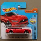 Hot Wheels 2017 Factory Fresh '15 Ford Mustang GT Convertible (red)
