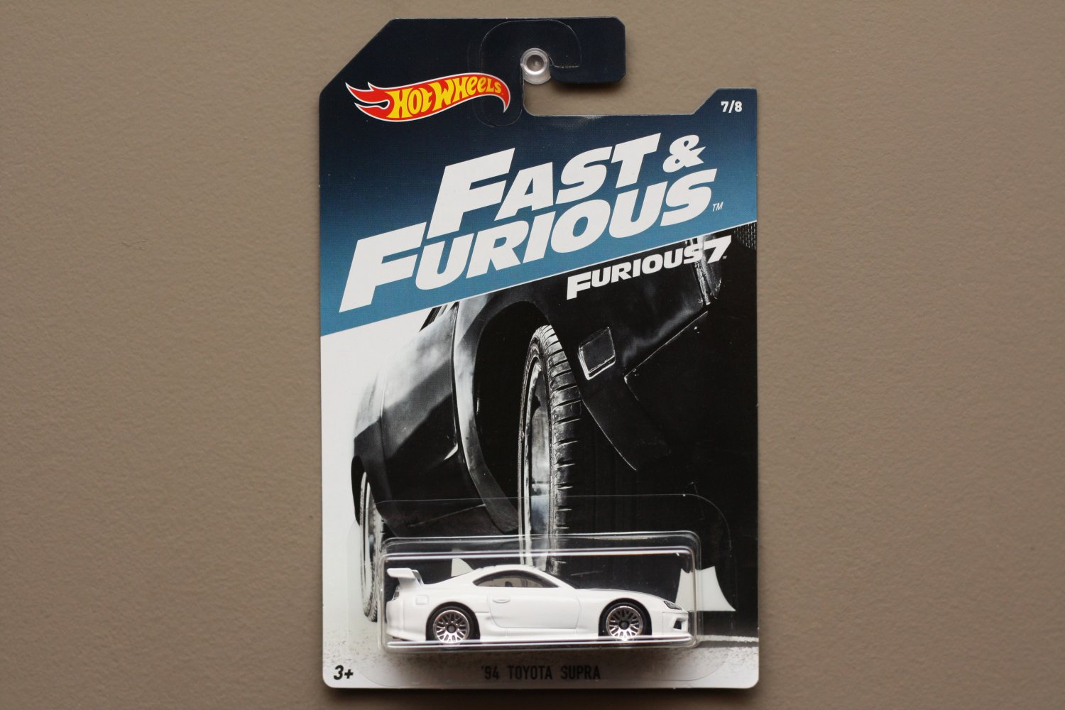 Hot Wheels 2017 Fast & Furious '94 Toyota Supra (SEE CONDITION)