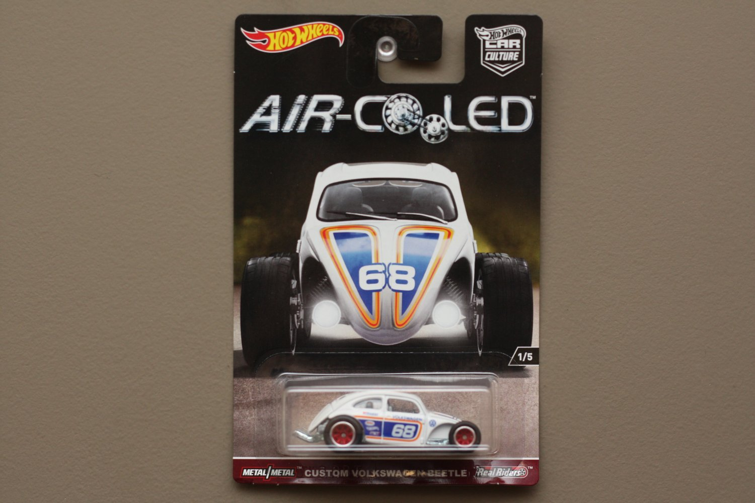 Hot Wheels 2017 Car Culture Air Cooled Custom Volkswagen Beetle (SEE CONDITION)