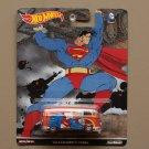 Hot Wheels 2016 Pop Culture DC Comics Volkswagen T1 Panel Bus (Superman) (SEE CONDITION)