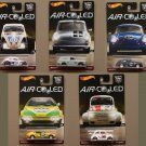 Hot Wheels 2017 Car Culture Air Cooled (COMPLETE SET OF 5) (Volkswagen, Porsche, Fiat)