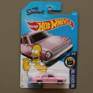 Hot Wheels 2017 HW Screen Time The Simpsons Family Car (pink)