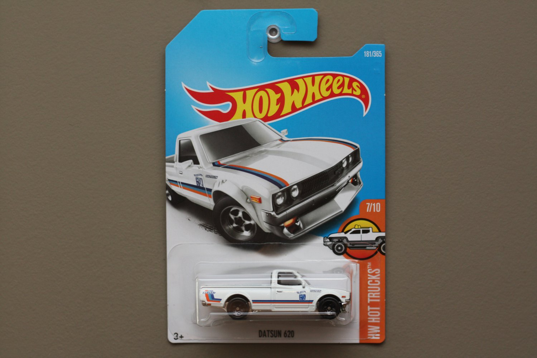 Hot Wheels 2017 HW Hot Trucks Datsun 620 (white)