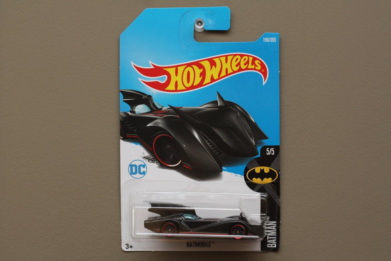 Hot Wheels 2017 Batman The Brave And The Bold Batmobile (black)